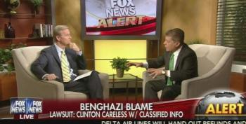 Fox News' Judge Napolitano Explains Why Benghazi Lawsuit Is Political Stunt