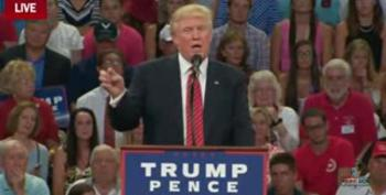 Trump Proposes Second Amendment Remedies If Hillary Gets Elected