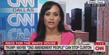Katrina Pierson Defends Trump's Call For 2nd Amendment  Violence