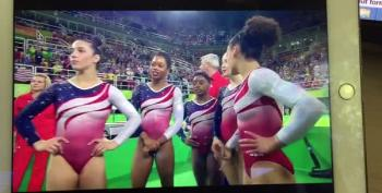 US Women's Gymnastics Team Wins Gold Medal In Record Breaking Performance