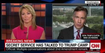 Secret Service Has A Talk With The Trump Campaign...