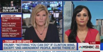 Katrina Pierson Goes Off The Rails On MSNBC