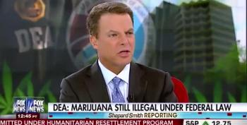 Fox's Shepard Smith Can't BUHlieve The DEA's Ruling On Pot