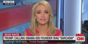 Trump Surrogate: He Was Being Both Serious And Sarcastic Calling Obama Founder Of ISIS