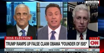 CNN Military Analyst Schools Jeffrey Lord On Trump And ISIS