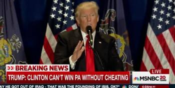 Trump: Clinton Can't Win Pennsylvania Without Cheating