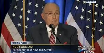 Sad! Rudy Giuliani Desecrates The Memory Of The 9/11 Attacks