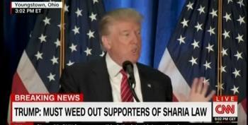 Trump Promises 'Extreme Vetting' Of Immigrants