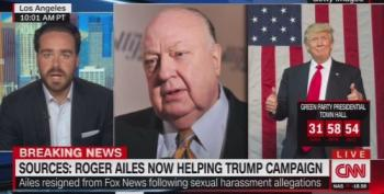 Report: Roger Ailes Is Helping Trump Prepare For Debates