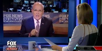 Giuliani Peddles Conspiracy Theory About Clinton's Health