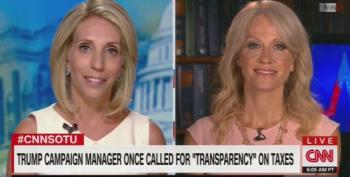 Kellyanne Conway Flip Flops On Releasing Trump's Tax Returns