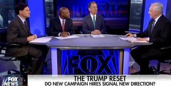 Fox WSJ Pundits Praise Trump For So-Called 'Pivot'
