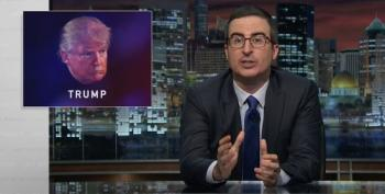John Oliver Gives Trump Opportunity To Drop Out Of Race