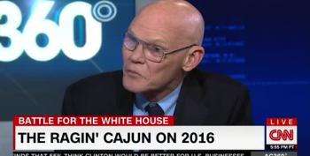 James Carville Warns Attacks On Clinton Foundation Will 'Cause People To Die'