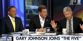 Gary Johnson Defends Black Lives Matter To Fox's Eric Bolling