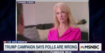 Trump's Campaign Manager Says 'Undercover Voters' Will Win Them The Election