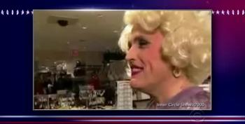 Giuliani In Drag With Donald Trump