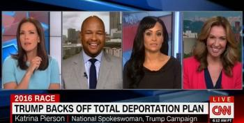 Katrina Pierson: Trump Hasn't Changed His Immigration Position, Just His Words