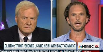 Chris Matthews Refuses To Believe KKK Grand Wizard Endorsed Trump
