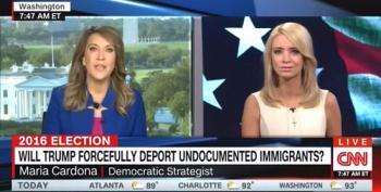 Maria Cardona: Will Trump Give Them 'Milk And Cookies On The Way To The Border?'