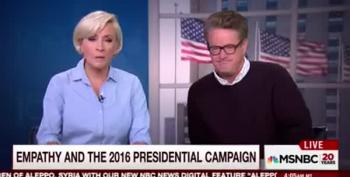 Morning Joe: 'Analyze' Trump, But What About His Supporters?