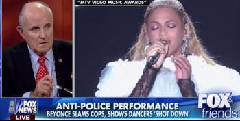 Cranky Old Rudy Giuliani Calls Beyonce's 2016 MTV Awards Performance 'Shameful'