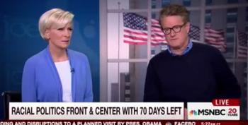 Mika Brezinski Calls Out Media Coverage Of Trump: 'We're Talking About Nothing'