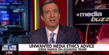 Howard Kurtz Actually Criticized Jorge Ramos For Being Biased!