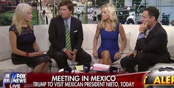 Is The Press Going With Trump To Mexico, Or Not?