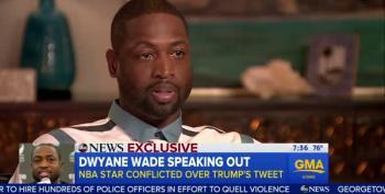 Dwyane Wade: Trump's Tweet Left A Bad Taste In My Mouth