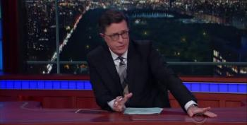 Late Show's Colbert Mocks Trump's Plan To 'Clean Up' Chicago