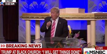 Donald Trump Shocked Black Church Knew A Bible Verse