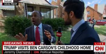 Ben Carson Freaks About His Missing Luggage