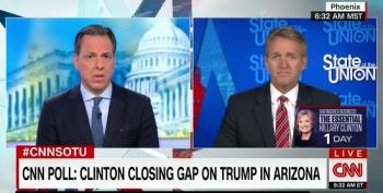 Sen. Jeff Flake: Hillary Clinton Could Win Arizona