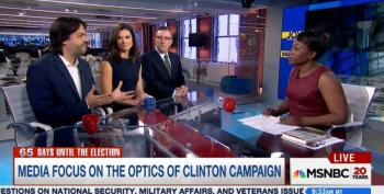Joy Reid Slams The Media For Scandalizing 'Bad Optics' Of The Clinton Campaign