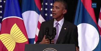 President Obama Speaks To The People Of Laos