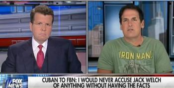 Mark Cuban Takes On Neil Cavuto Over Clinton Foundation, Speaking Fees