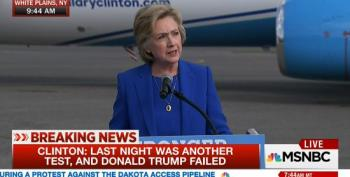 Clinton: Trump 'Temperamentally Unfit' To Be Commander In Chief