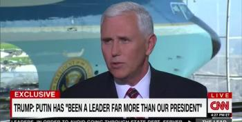 Mike Pence: 'Inarguable That Putin Is Stronger Leader Than Obama'