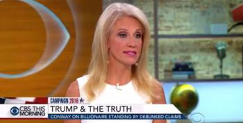 Kellyanne Conway: Trump's Support Of Iraq War Doesn't Count