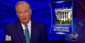 Bill O'Reilly Likens Trump's Illegal Donation To Bondi To Hillary Clinton's Coughing
