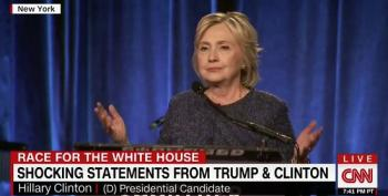 CNN Is Shocked That Hillary Called Half Of Trump's Supporters Racist, Sexist Xenophobes