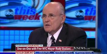 Giuliani: 'Of Course' Taking Iraq's Oil Would Have Been Legal