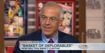 David Brooks Bemoans The 'Race To The Bottom' Following Clinton's 'Deplorables' Remark