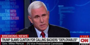 Mike Pence Refuses To Put David Duke Into The 'Basket Of Deplorables' (UPDATED)