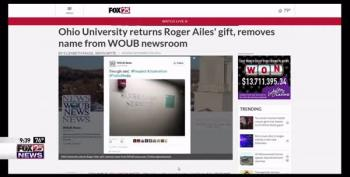 Ohio University Removes Roger Ailes' Name From Newsroom