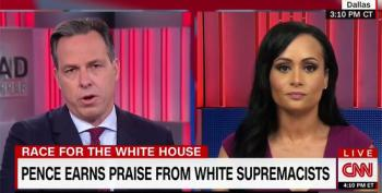 Jake Tapper Mocks Katrina Pierson: 'That Has Never Happened In The History Of The World'