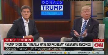Trump Releases One Page Summary To Dr. Oz As Real Medical Record