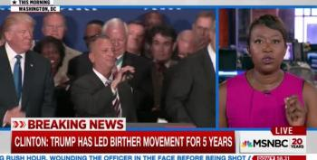 Joy Reid Breathes Fire After Trump's Bogus Birther Announcement