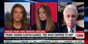CNN Anchor:  'In His Defense, He Has Not Incited Any Violence'